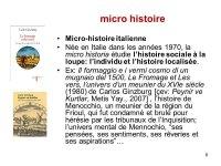 Microhistoire