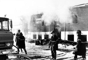 Incendie de l'hôtel de ville de Chertsey