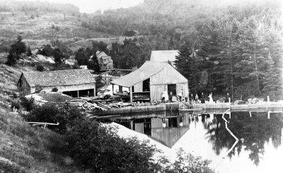 Moulins sur la rivière Burton 1902