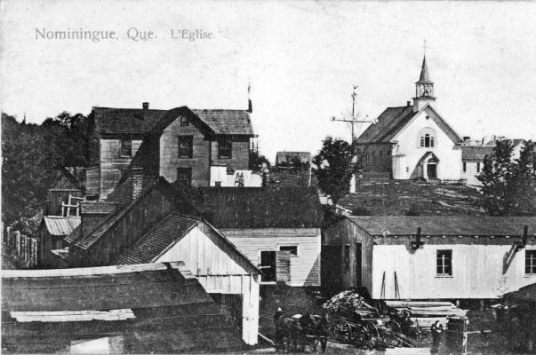 Nominingue: vue de l'église
