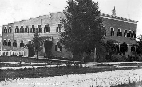 Nominingue: couvent et institut familial des soeurs de Sainte-Croix