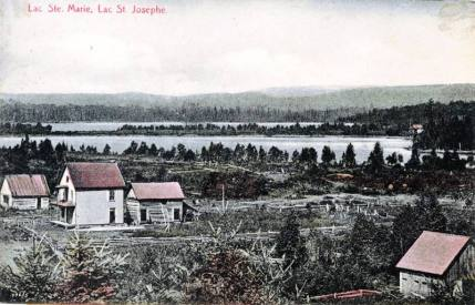 Nominingue: Lac Sainte-Marie et lac Saint-Joseph