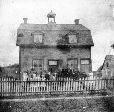 L'ancienne école de Chertsey