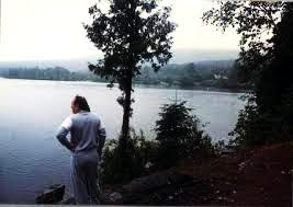 Le découvreur de la pirogue du lac Gour à Chertsey