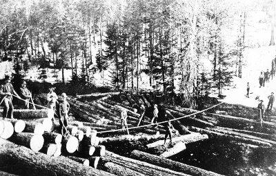 Flottage du bois