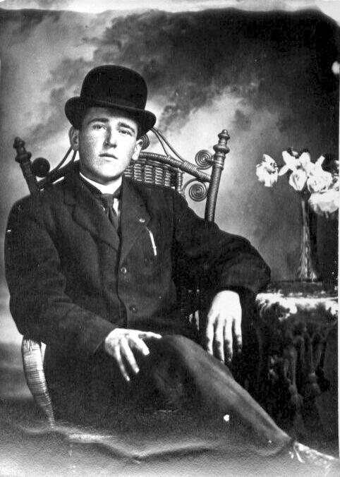 Viateur Poudrier fils d'Edmond et Rose de Lima Lapierre