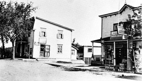 L'ancien bureau de poste du village