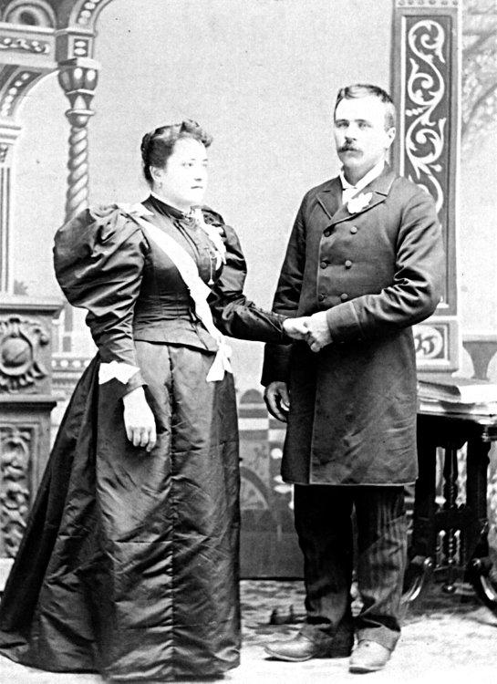 Arsène Rivest et Justine Brisson