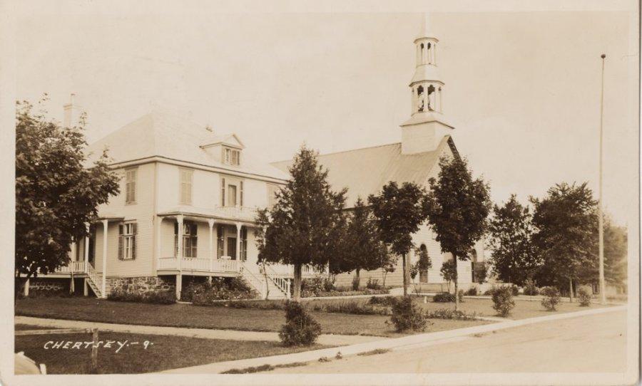 L'ancien presbytère de Chertsey
