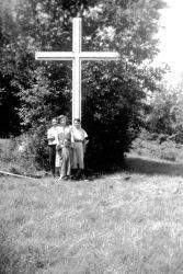 Croix du chemin Rochon (Photo famille Rochon)