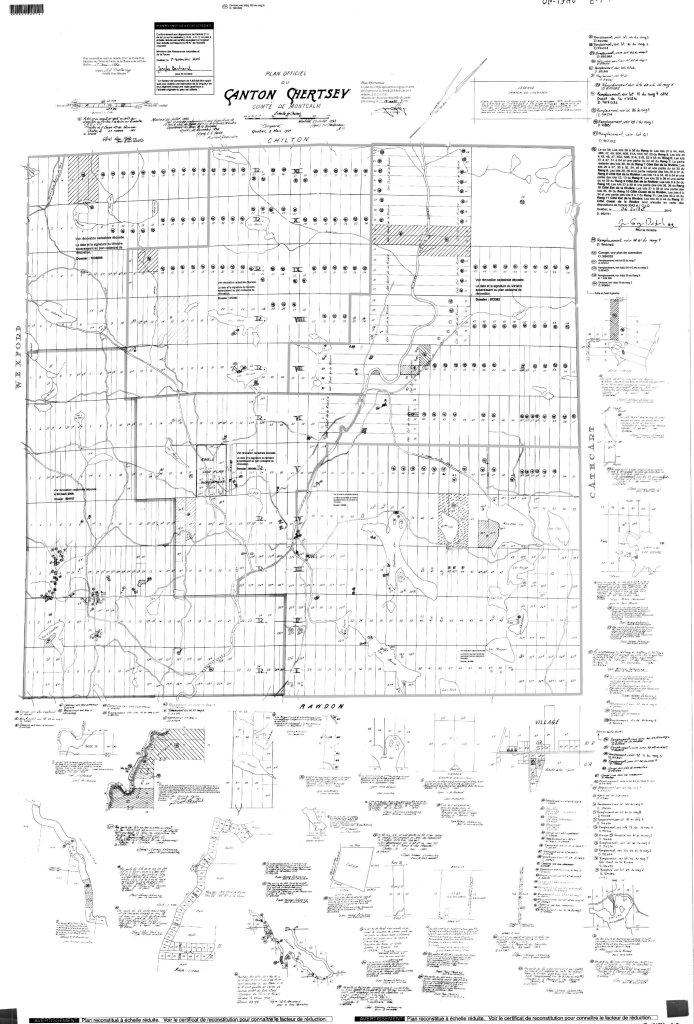 Plan officiel de Chertsey
