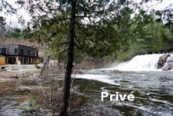 La chute à Michel, patrimoine naturel - Chertsey