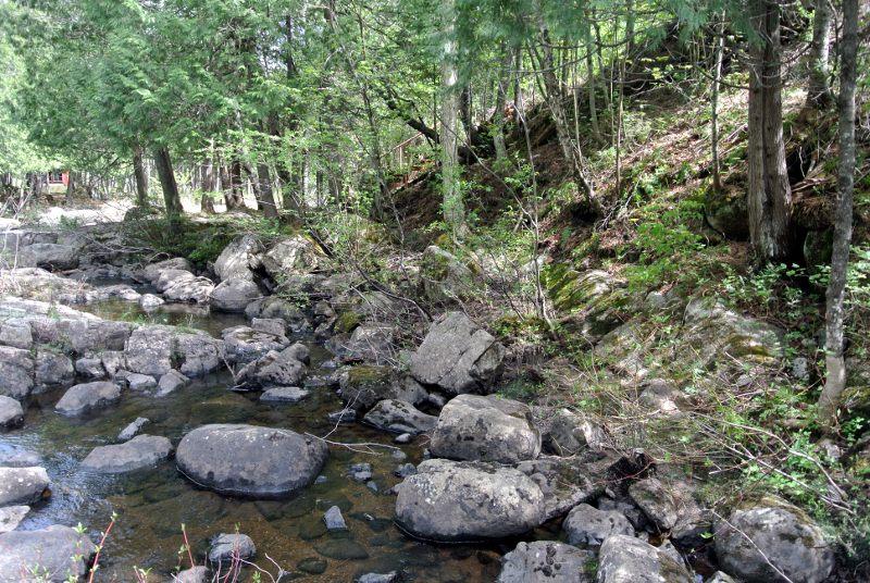 Fouilles des moulins de la Jean-Venne 2017: C'était un bassin, le niveau était plus haut