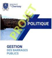 Projet, gestion des barrages publics Chertsey