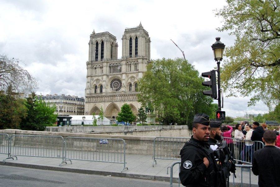 Notre-Dame de Paris, le périmètre de sécurité