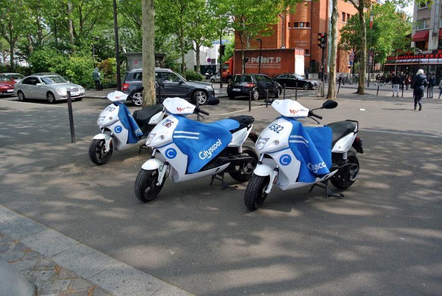 Scooters électriques à louer