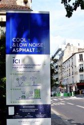 Cool & low noise asphalt