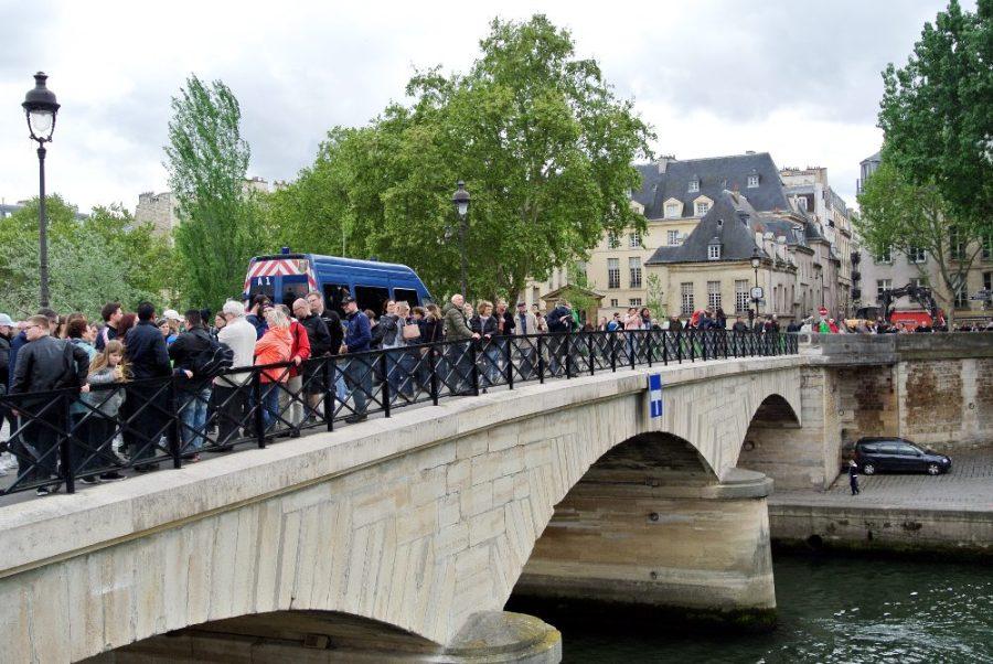 Les parisiens sont venus voir