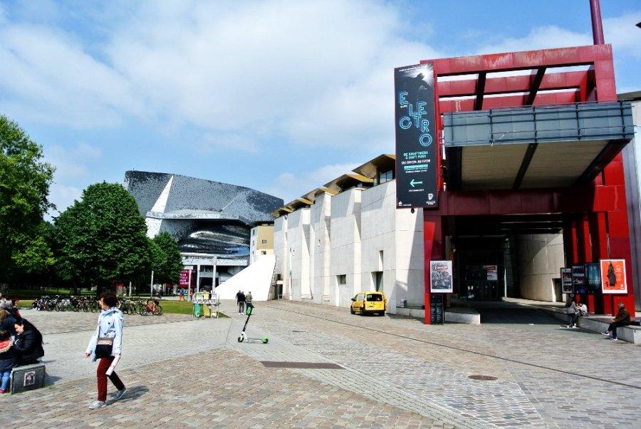 La salle de concert et la Maison de la Musique