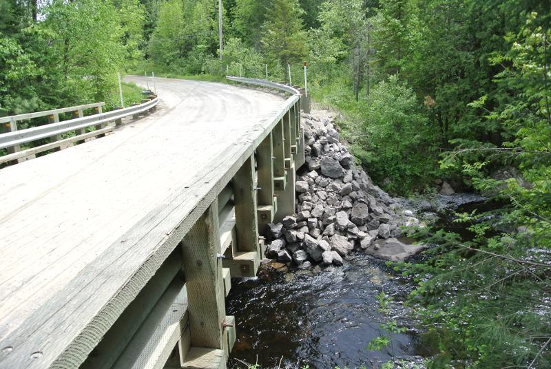 Le pont réparé