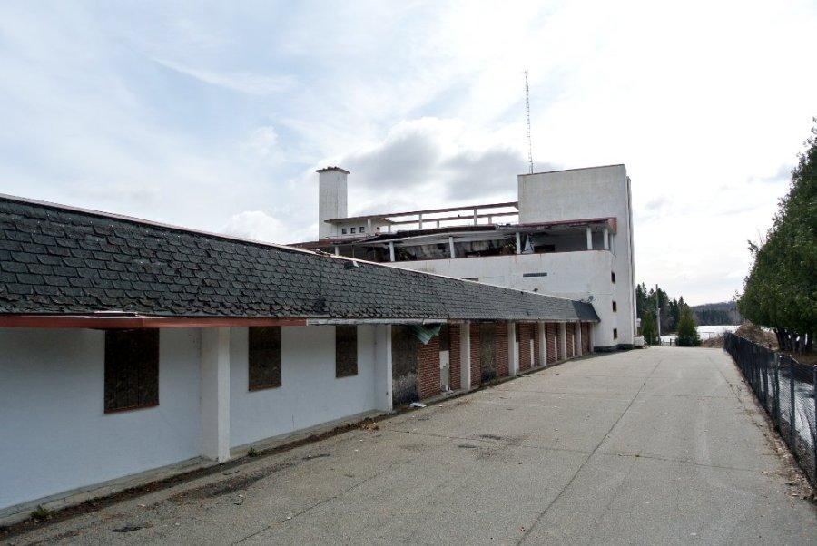 Un site abandonné