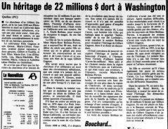Le Nouvelliste 11 août 1994