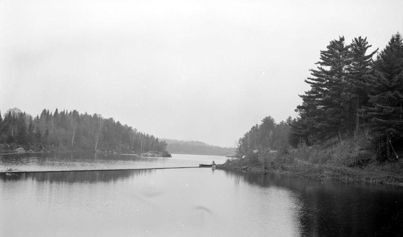 Le lac Pontbriand 1938