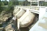 Le barrage de Rawdon