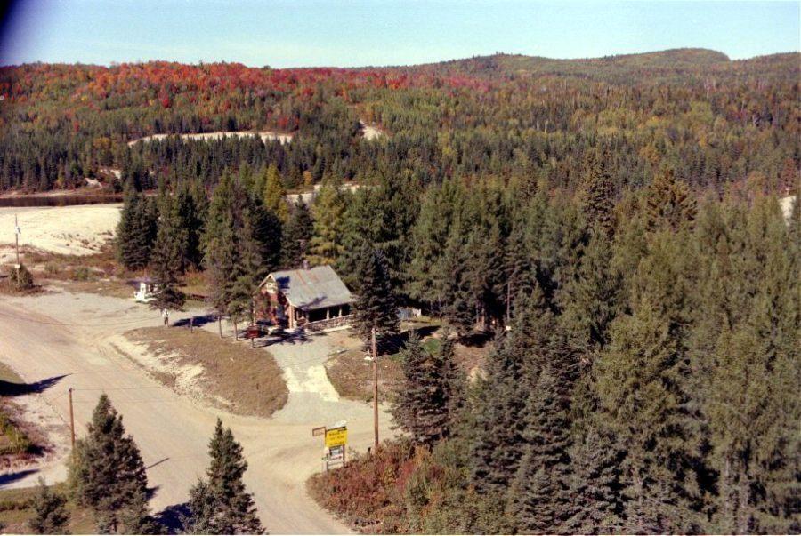 Chertsey 1978: chemin du lac d'Argent et chemin du lac Brûlé