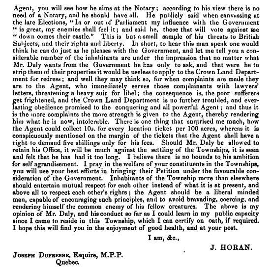 Le notaire John Horan (2)