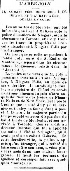 Le Courrier de St-Hyacinthe 27 avril 1901