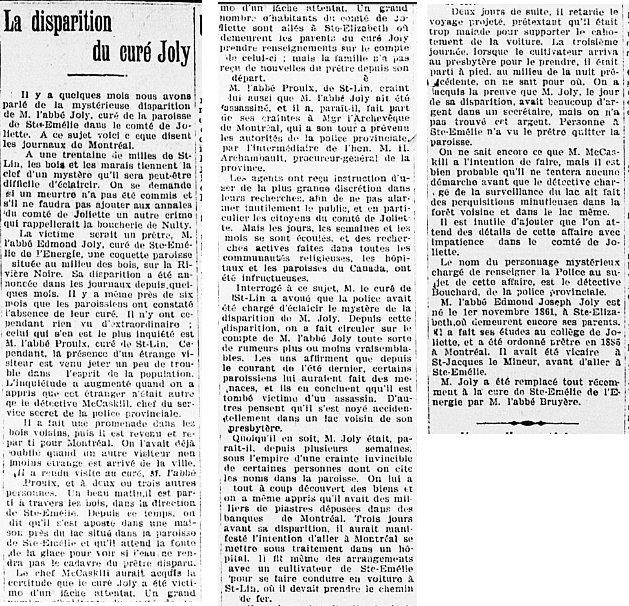 Le Journal des Campagnes 27 avril 1901