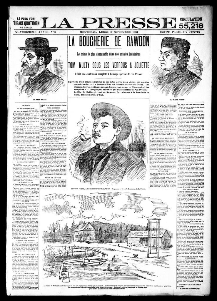La Presse 8 novembre 1897