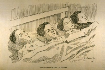 Les 4 enfants assassinés