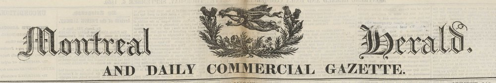 Montreal Herald daily commercial gazette