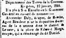 L'Aurore des Canadas 18 janvier 1844