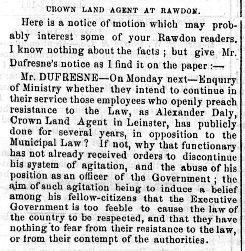 Montreal Herald 5 mai 1858