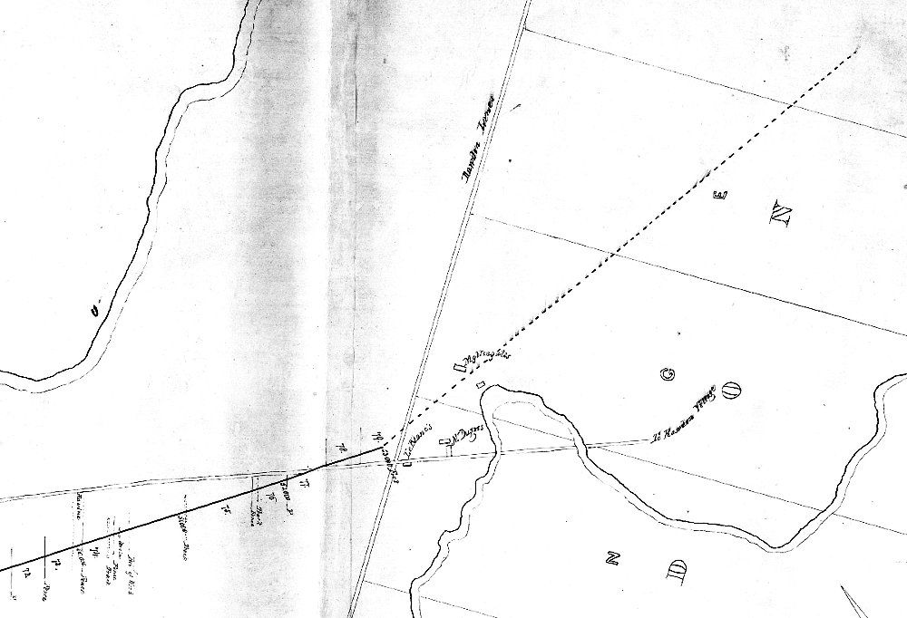 L'arrivée à Rawdon près du moulin de N. dugas sur la rivière Rouge