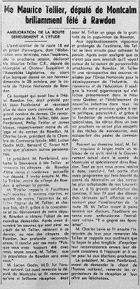 L'Action Populaire 8 novembre 1951