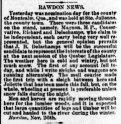 Daily Witness 1er décembre 1881