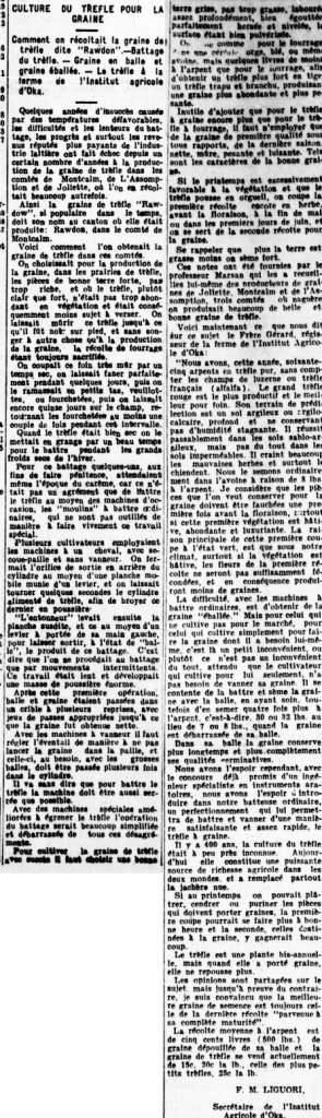 Le Canada 11 juin 1908