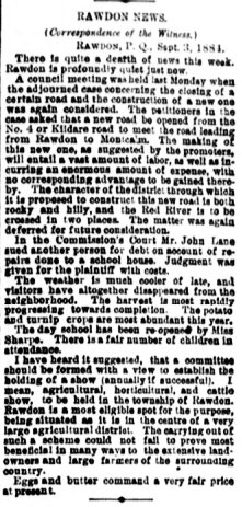 Daily Witness 10 septembre 1884