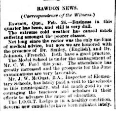 Daily Witness 28 février 1893