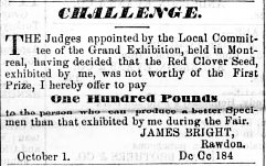 Montreal Herald 1er octobre 1853
