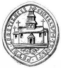 L'abbaye de Chertsey (Wikipedia)