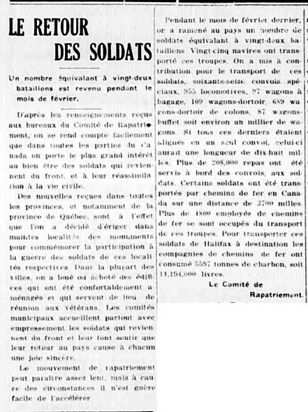 L'Étoile du Nord 20 mars 1919