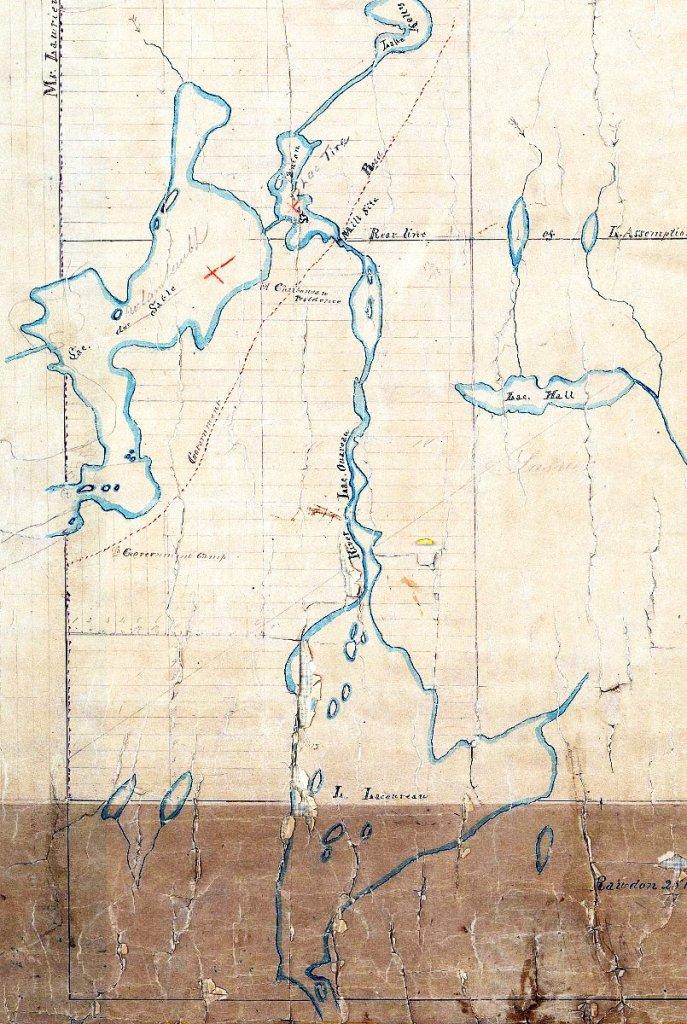 Carte de Saint-Donat 1871