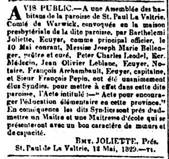 La Minerve 28 mai 1829