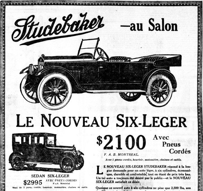 Studebaker 1921