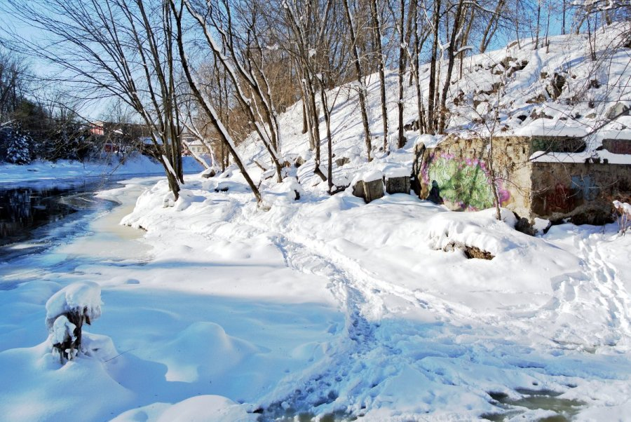 Rivière L'Assomption - Usine Vessot